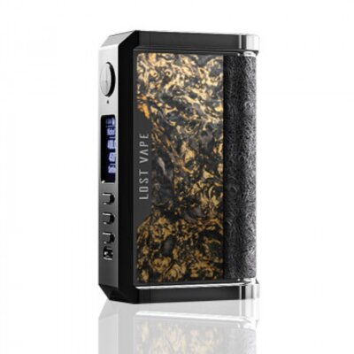 Lost Vape - Centaurus DNA 250C Chopped Carbon Fiber Gold Limited Edition