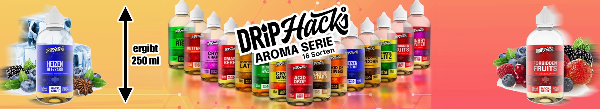 Drip Hacks - Aromen